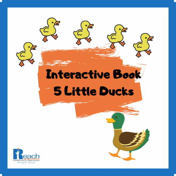 Interactive book - 5 little ducks